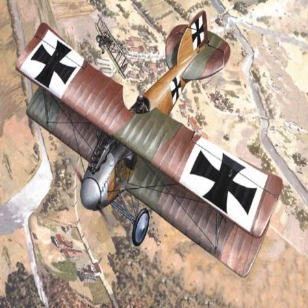 Roden Albatros D.II German Fighter Airplane Model Kit