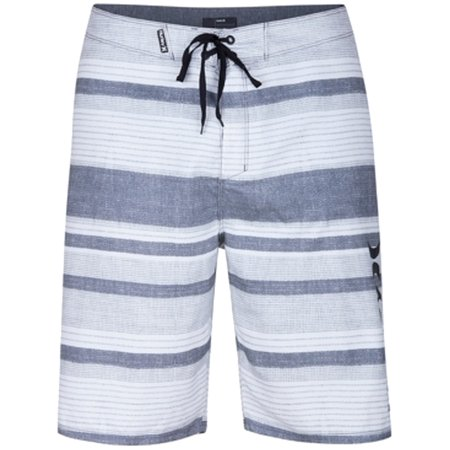 2c2f22efe2 Hurley NEW White Gray Mens Size 33 Striped Drawstring Board Shorts -  Walmart.com