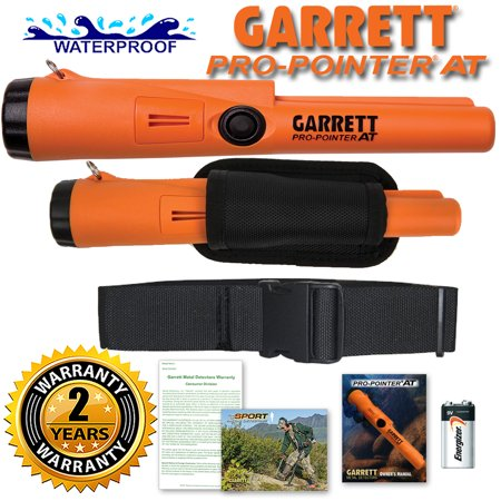 Garrett Pro Pointer AT Pinpointer Waterproof ProPointer with Belt and (Minelab Pro Find 25 Pinpointer Vs Garrett)