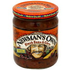 Newman's Own Black Bean & Corn Medium Salsa, 16 oz (Pack of 12)