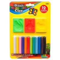 New 372502  Modeling Clay Sticks W / 3 Moling 160G 12 Colors (24-Pack) X Others Cheap Wholesale Discount Bulk Stationery X Others All Purpose