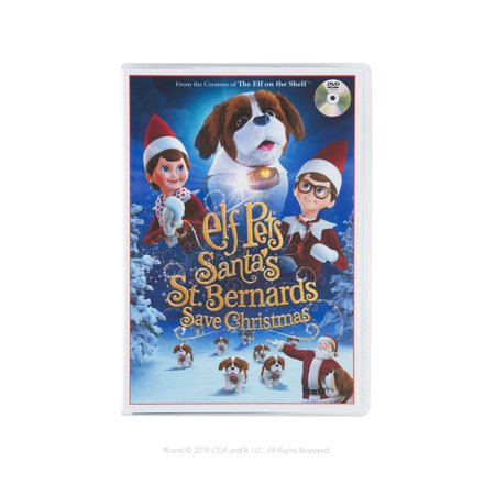 Elf Pets: A St. Bernard Tradition (Human Elf On The Shelf)