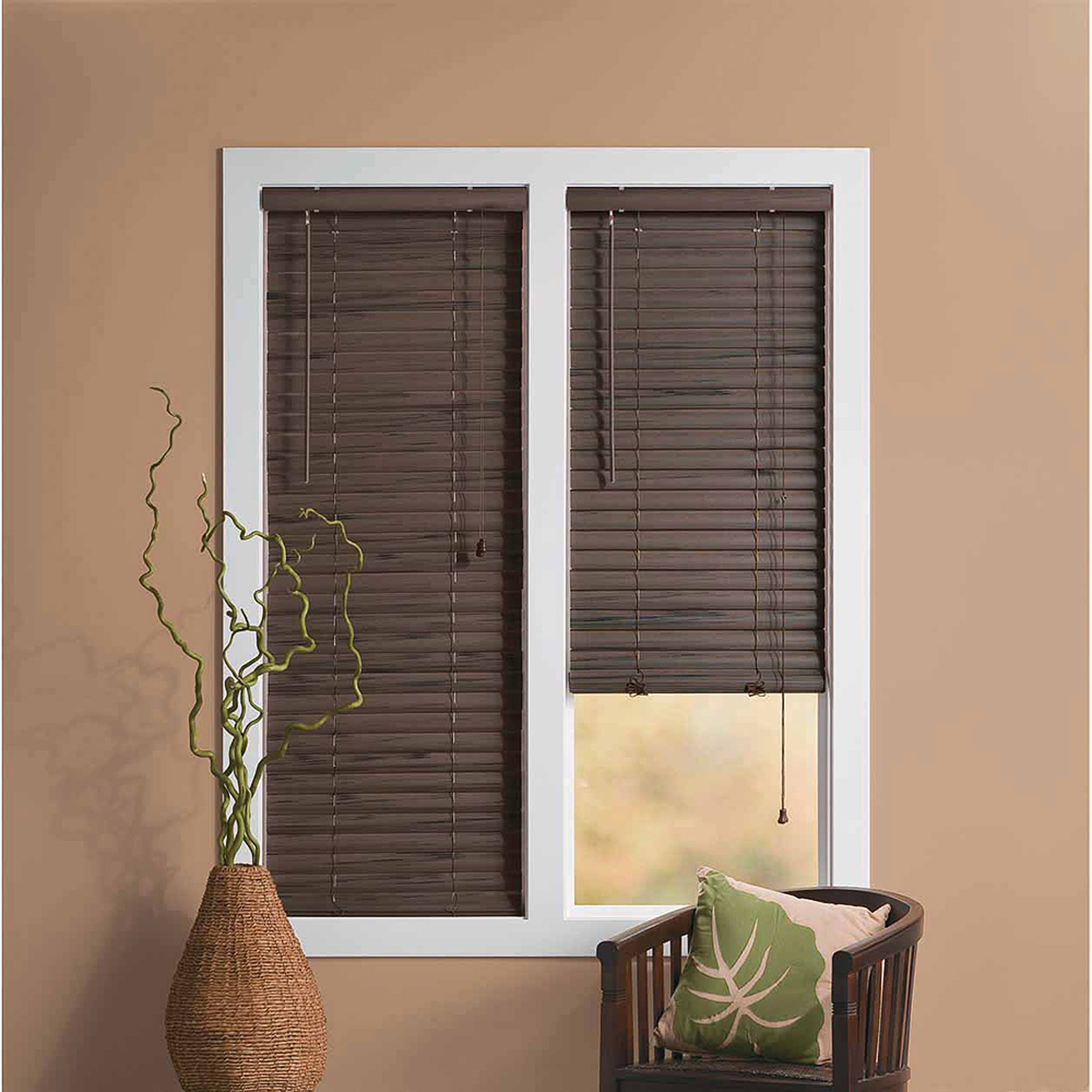 walmart door at r decor blinds in faux shop shades com lowes treatments cordless pl a window plantation home wood