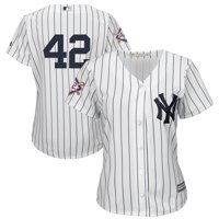New York Yankees Majestic Women's 2019 Jackie Robinson Day Official Cool Base Jersey - White