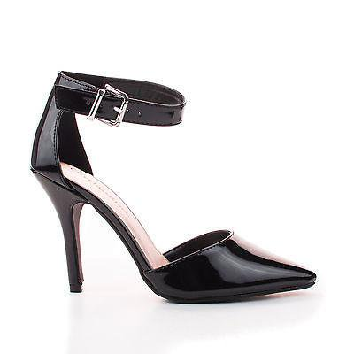 Update By City Classified  Dorsay Dress Pump W Ankle Strap High Heel Stiletto Women Shoe