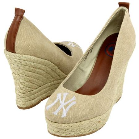 Cuce Cuce Shoes New York Yankees Womens The Groupie Espadrille