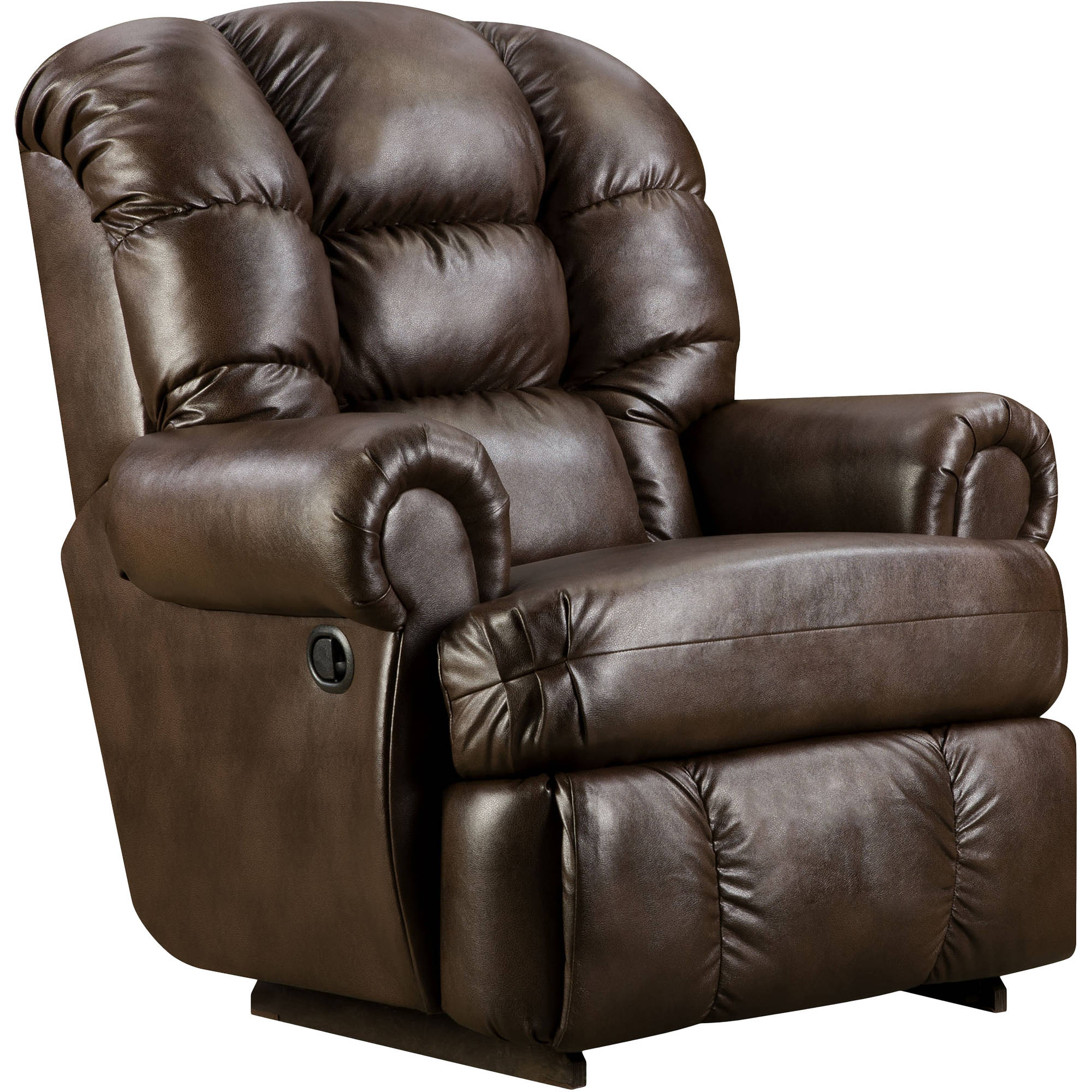 Capacity Loggins Espresso Leather Recliner  sc 1 st  Walmart & Flash Furniture Big and Tall 350 lb. Capacity Loggins Espresso ... islam-shia.org