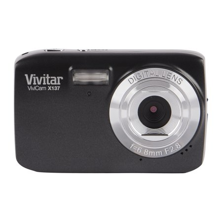 "Vivitar 10.1MP Digital Camera with 2.4"" Full Touch Screen Black"