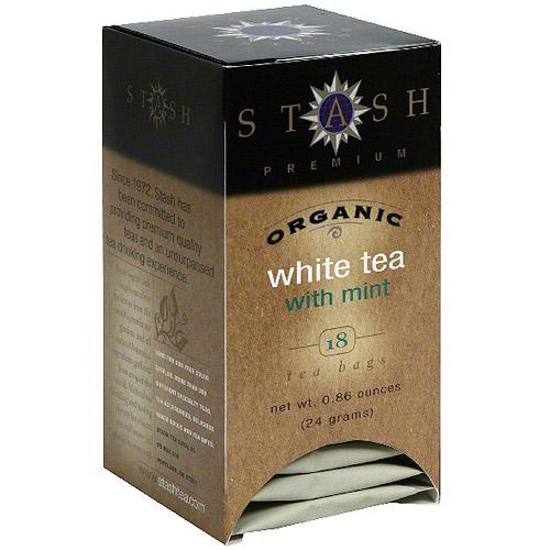Generic Stash Organic Mint White Tea, 18ct (pack Of 6)