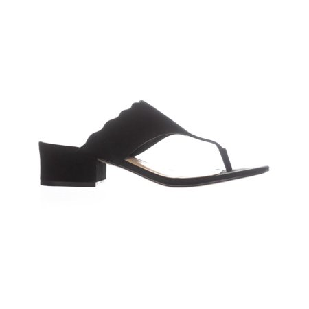Marc Fisher Veva Dress Thong Sandals, Black - image 5 of 6