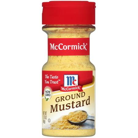 4 Mustard ((2 Pack) McCormick Ground Mustard, 1.75 oz)