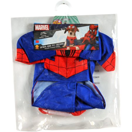 Spiderman Pet Costume L - Spider Costume For Dogs