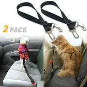 (2 Pack) Adjustable Car Safety Seatbelt for Cat and Dog