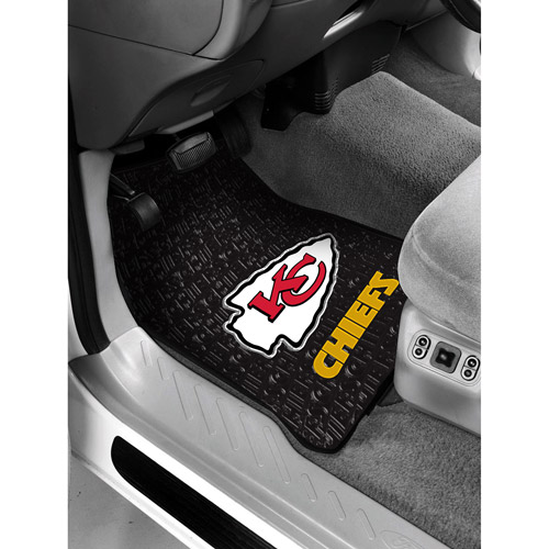 NFL - Kansas City Chiefs Floor Mats - Set of 2