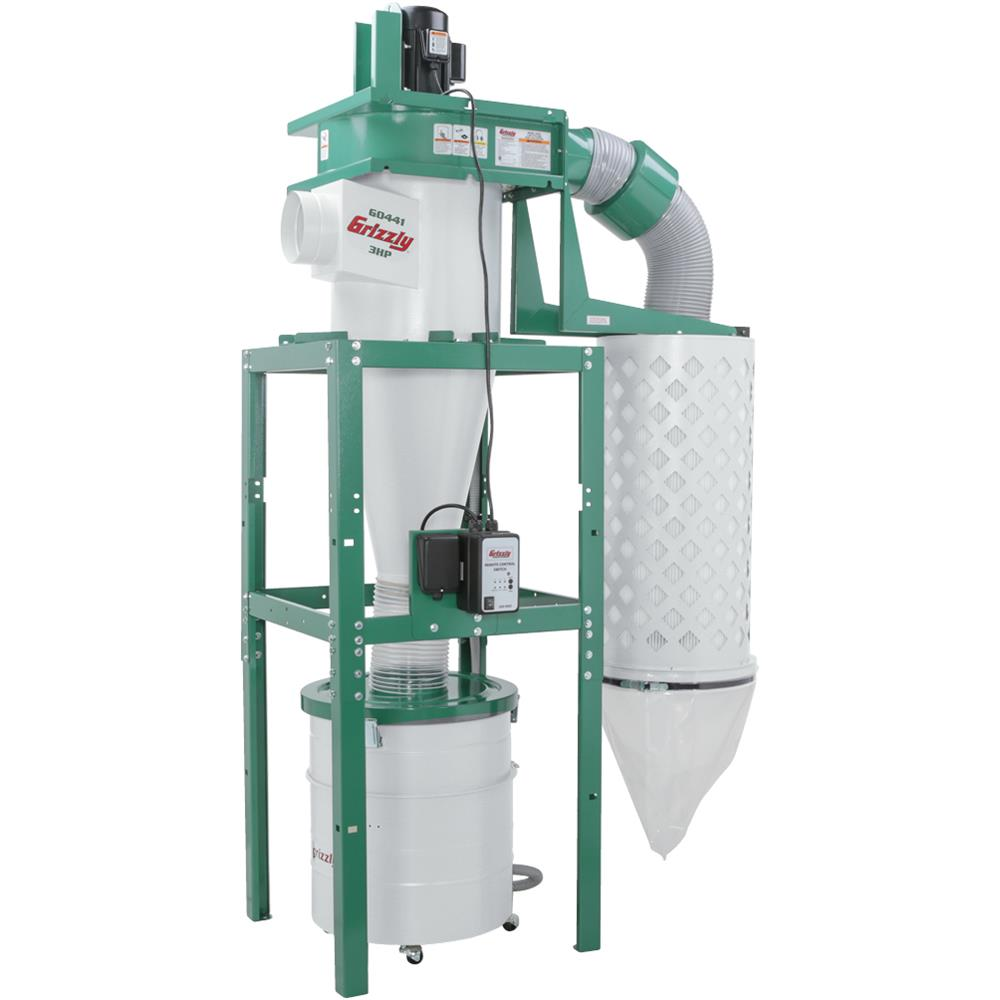 Grizzly G0441 3 HP Cyclone Dust Collector by Grizzly