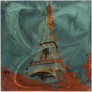 Metal Art Studio Eclectic Paris Themed Metal Wall Art