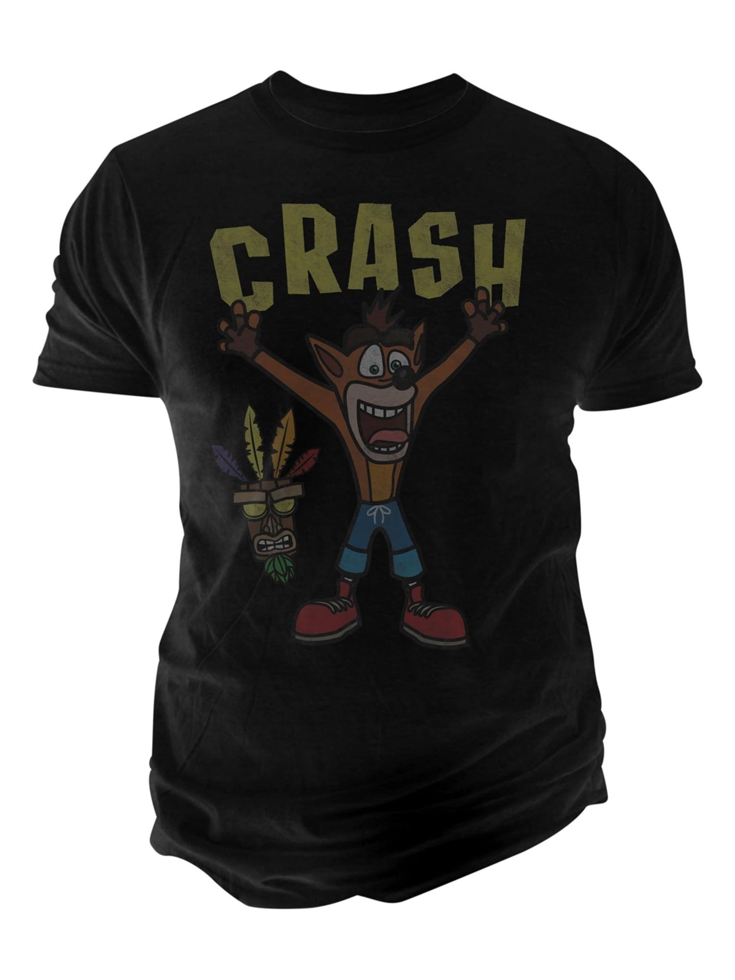 20bd2bca Fruit of the Loom Mens Crash Graphic T-Shirt black 2XL   Walmart Canada