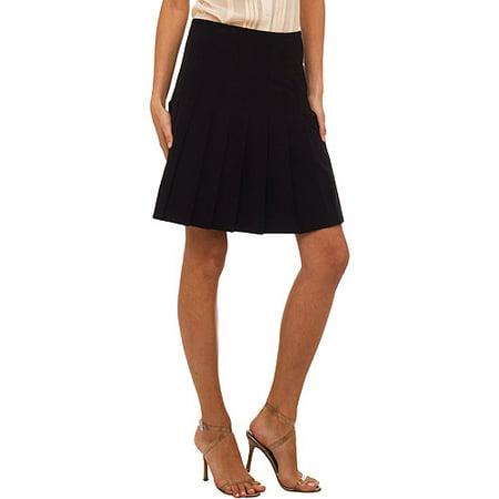 12faa8fca Norma Kamali - Norma Kamali - Women s Pleated Skirt - Walmart.com
