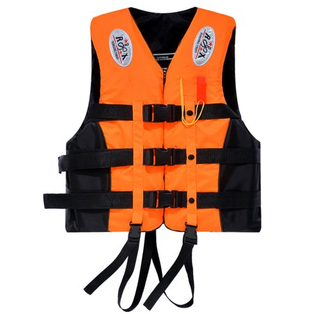 Travel Buoyancy Compensator - Zimtown Portable Adult Universal Waterproof Life Jackets, Buoyancy Aid Summer Swimming Boating Kayak PFD Life Vest + Whistle