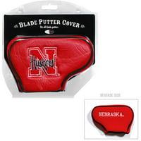Team Golf NCAA Nebraska Golf Blade Putter Cover