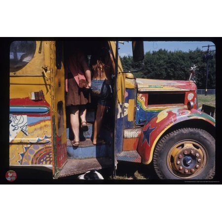 Woodstock- Come Aboard the School Bus Poster Wall Art By Epic Rights