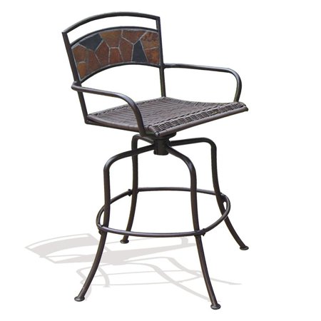 Rock Canyon Bar Height Swivel Chairs Walmartcom