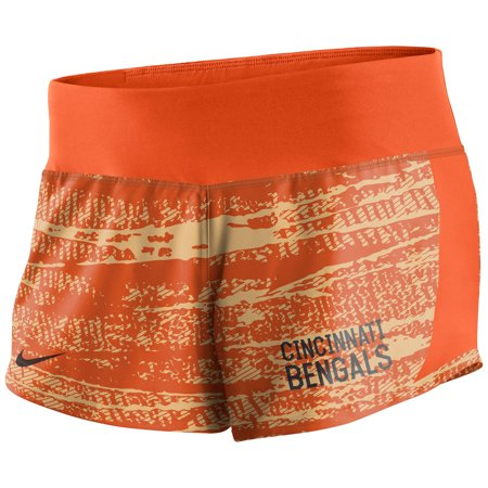 Cincinnati Bengals Nike Women's Crew Shorts - Orange