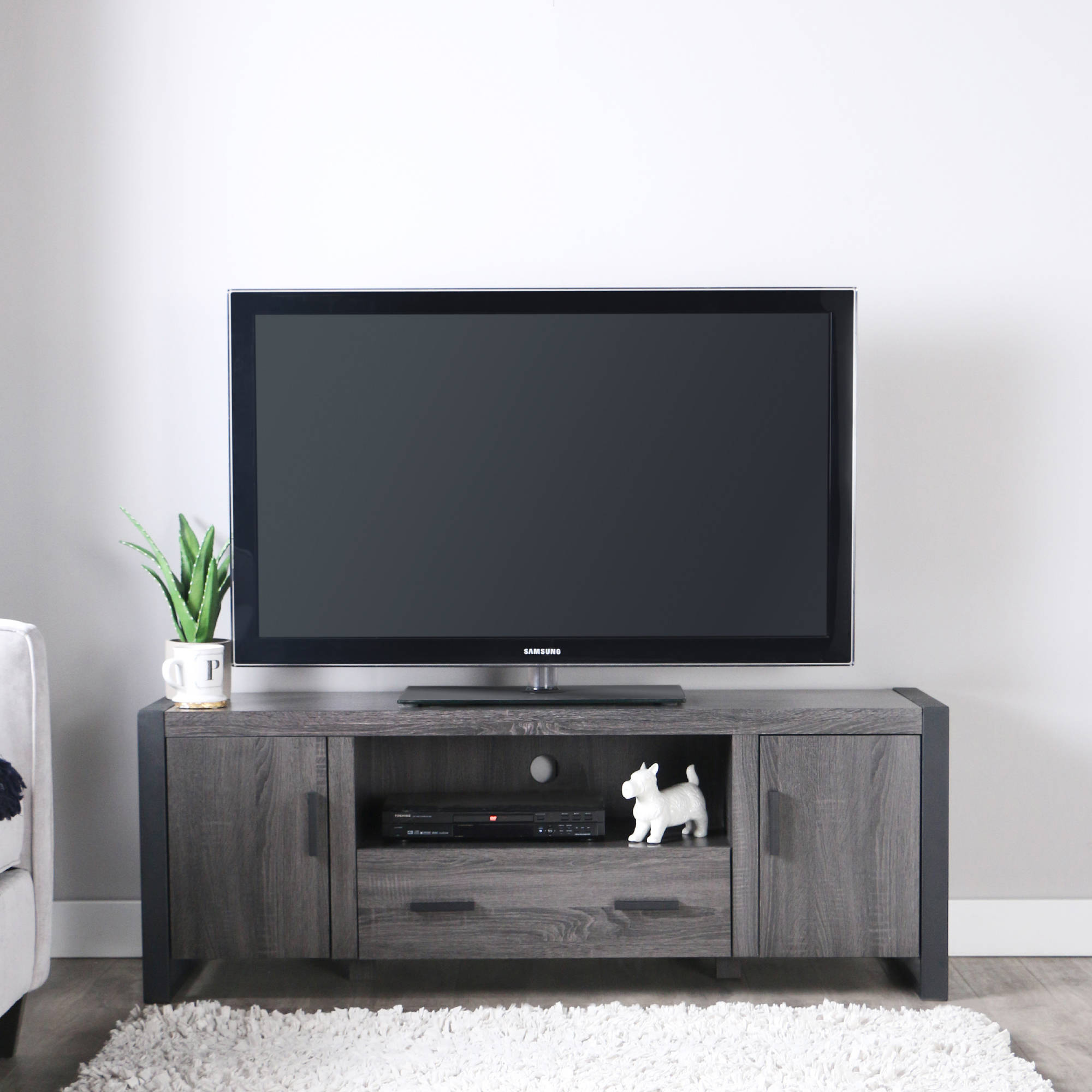 tv cabinets walmart walker edison reclaimed wood tv stand for tvs up to 65 27348