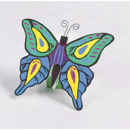 Unfinished Wooden Butterflies Unassembled, Pack of 12](Wooden Butterfly)