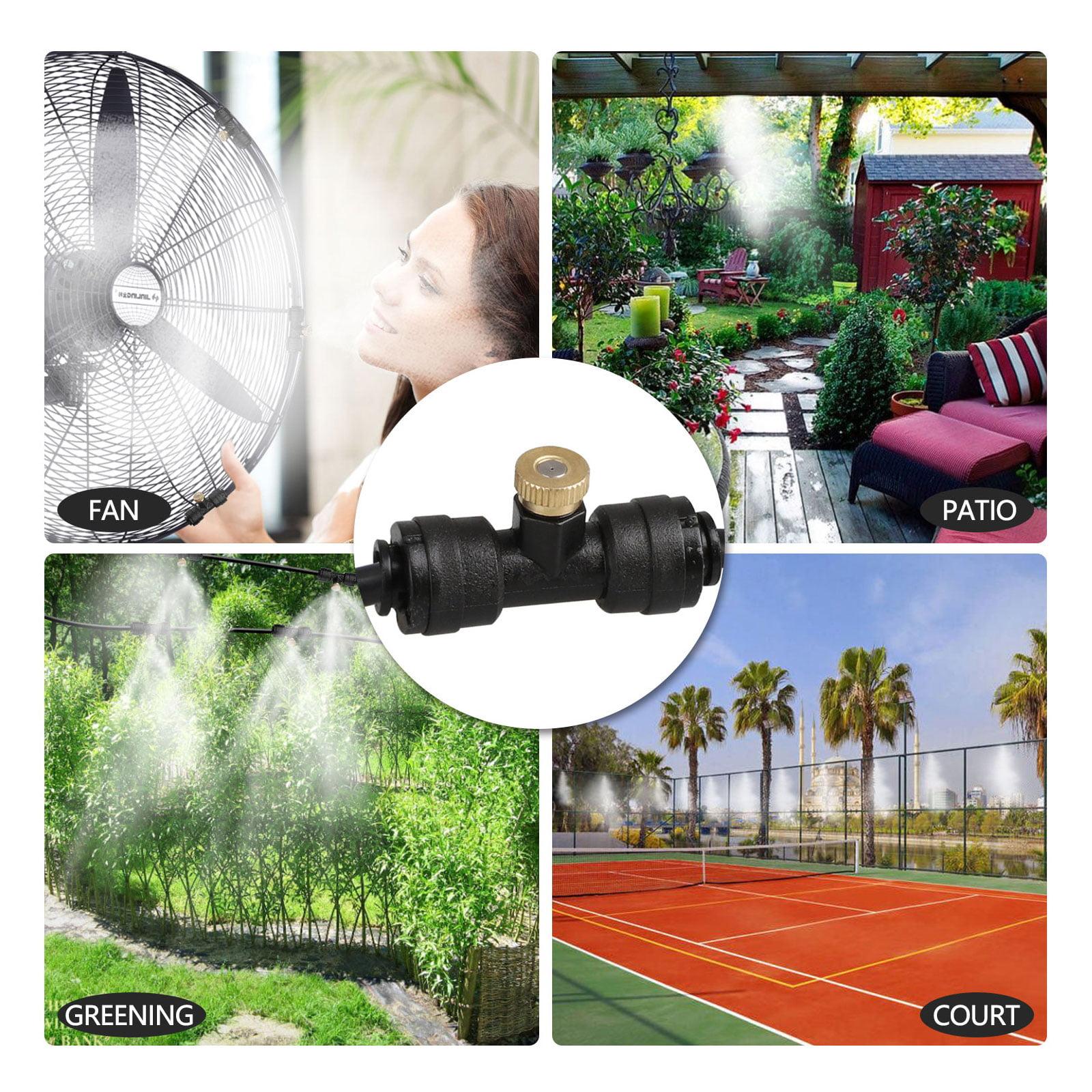 Misting Cooling System 49 FT,Outdoor Misters Cooling Kit,Misting ...