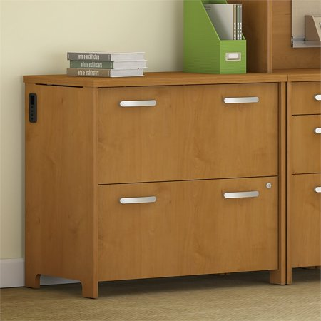 Bush Furniture Envoy 32W 2 Drawer Lateral File Cabinet in Cherry - image 1 of 7