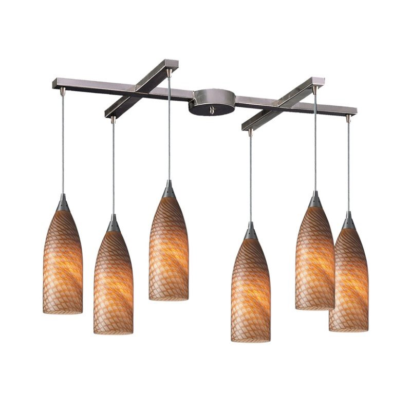 Wistaria Lighting Vuelta 6 Light Pendant