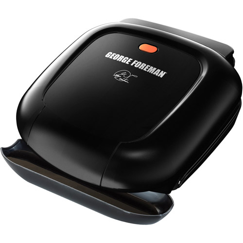 George Foreman 36-sq in 2 Serving, Classic-Plate Grill, Black, GR0040B