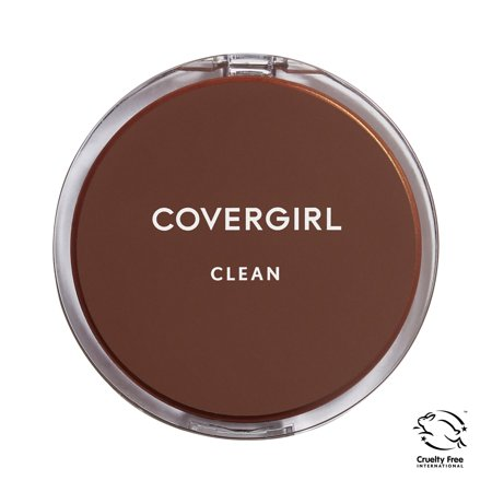 COVERGIRL Clean Powder Foundation, 160 Classic (Best Mac Brush For Powder Foundation)