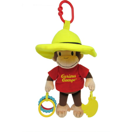 Curious George Developmental Activity Toy - 11.5