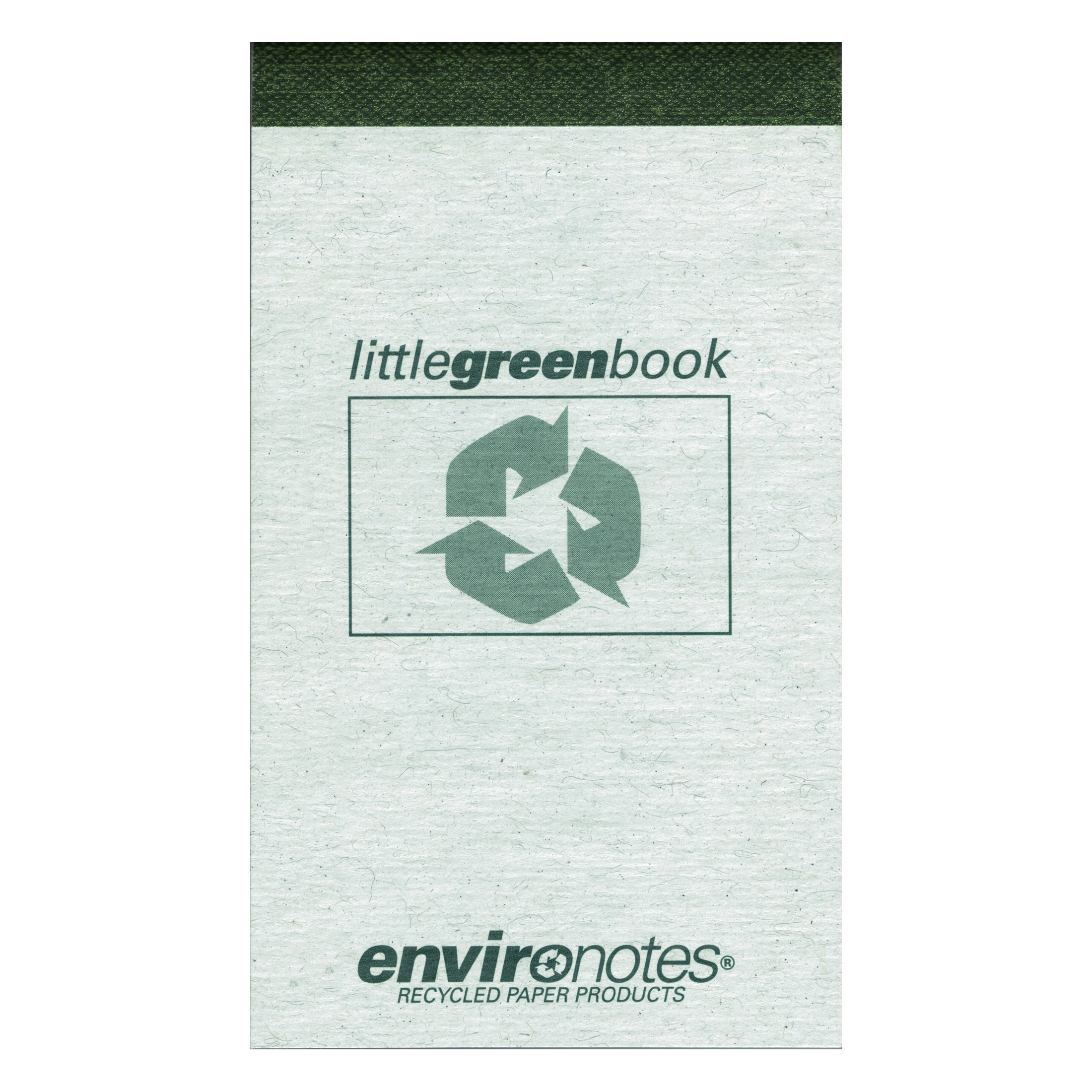 "LITTLE GREEN BOOK 3""x5"" NARROW RULED"