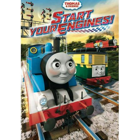 Thomas & Friends: Start Your Engines (DVD) - Thomas The Tank Engine Halloween Dvd