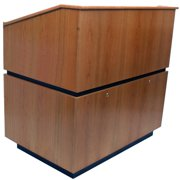 Coventry Multimedia Lectern - non sound APLSN3030WT