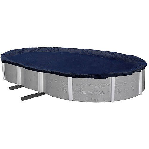 Blue Wave Bronze 8-Year 18' x 34' Oval Above-Ground Pool Winter Cover