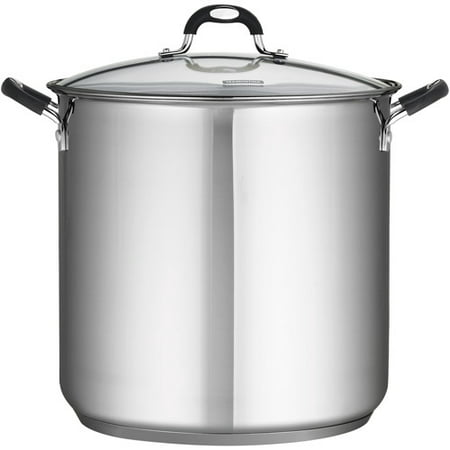Meyer Rachael Ray Covered Pot - Tramontina Stainless Steel 22-Quart Covered Stock Pot