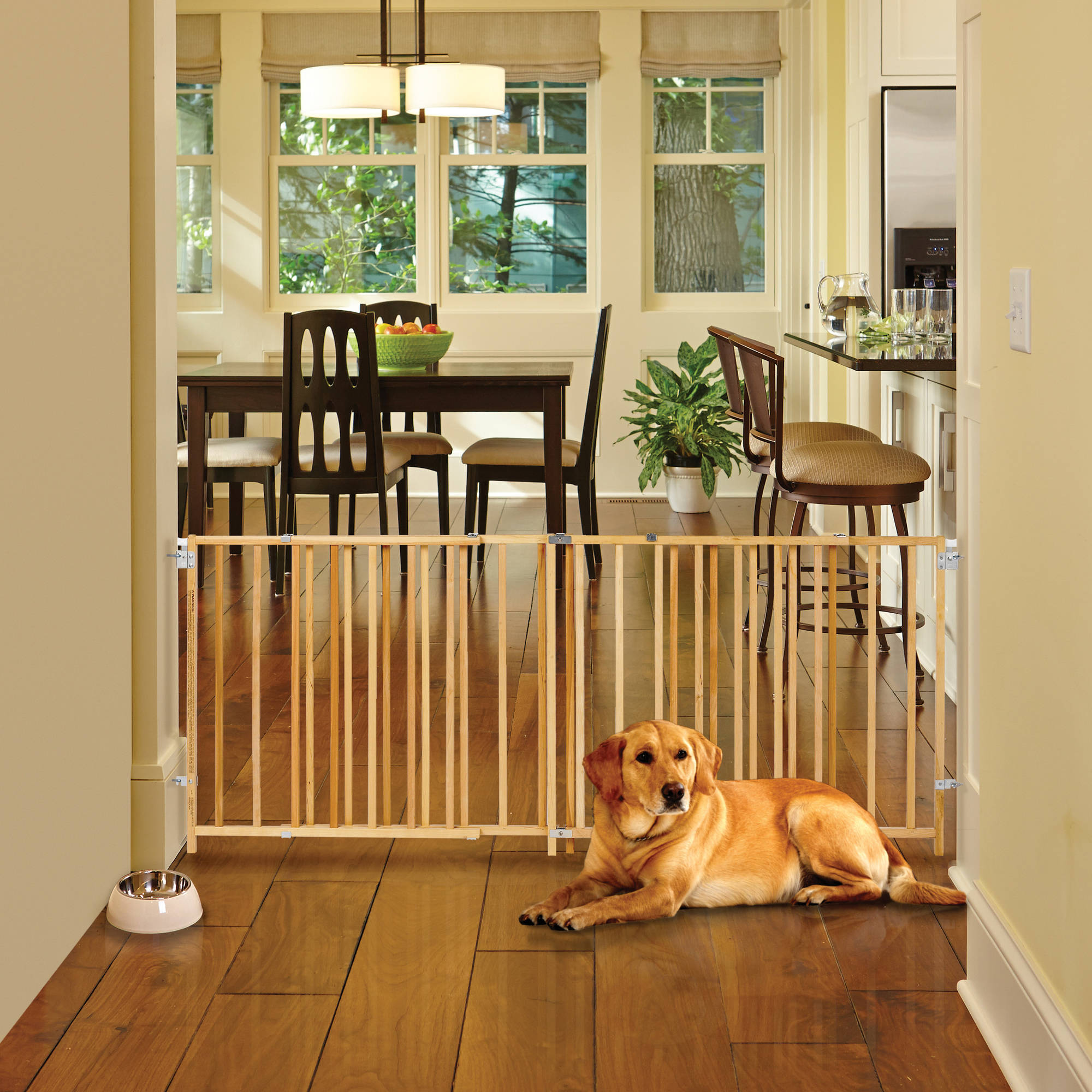 New extra wide wooden swing gate north states supergate