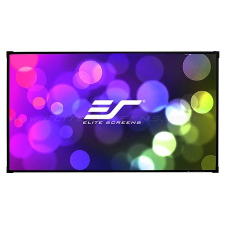 Elite Free Gift (Elite Screens Aeon AUHD Series, 120-inch 16:9, 4K Home Theater Fixed Frame EDGE FREE Borderless Projection Sound Transparent Perforated Weave Projector Screen,)