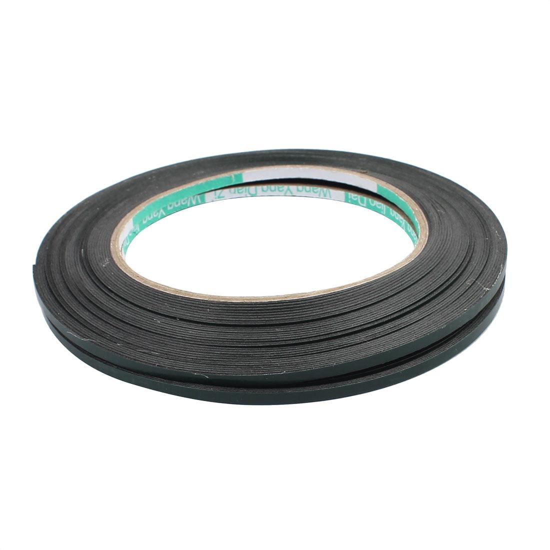 2pcs 10M x 3mm x 0.5mm Dual-side Adhesive Shockproof Sponge Foam Tape Green - image 2 de 3