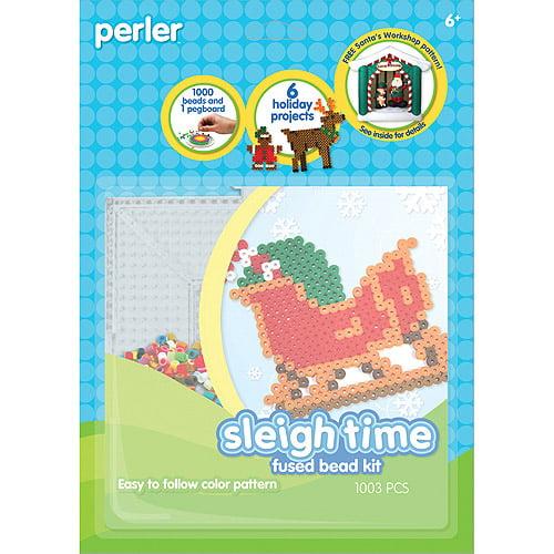 Perler Fun Fusion Fuse Bead Activity Kit, Sleigh Time