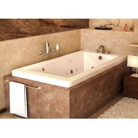 Product Image Atlantis Tubs 3272vnwl Venetian 32 X 72 23 Inch Rectangular Whirlpool Jetted Bathtub W