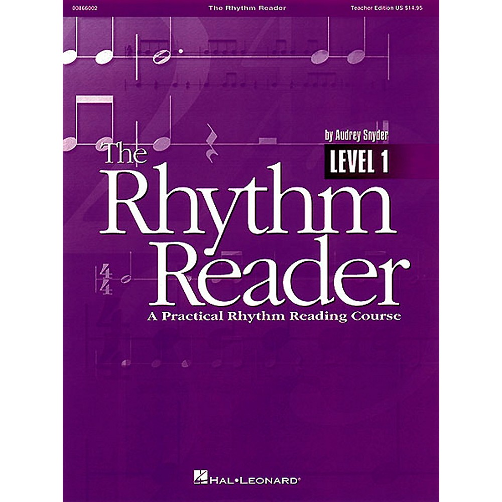 Hal Leonard The Rhythm Reader - A Practical Rhythm Reading Course Accompaniment CD