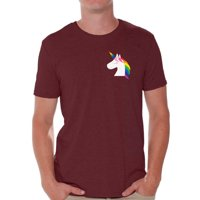 Awkward Styles Unicorn Autism Shirts for Men Autism Awareness Puzzle Unicorn Shirt Men Autism Awareness Shirts Men's Autism T Shirt Autism Awareness Gifts for Him Autistic Pride Gifts
