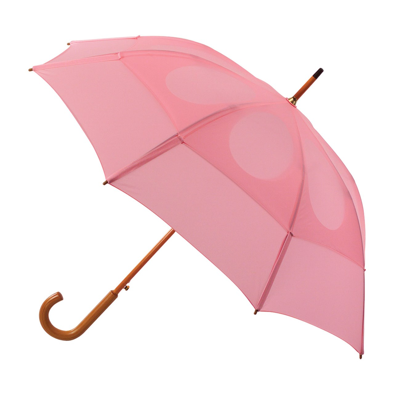 Gustbuster Classic Umbrella with Wooden J-Handle - Pink