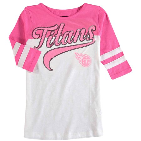 Discount Tennessee Titans 5th & Ocean by New Era Girls Youth Jersey Slub 34