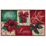 Mainstays Blissful Peace Christmas 18x30 Rug